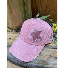 Glitter Star Cap