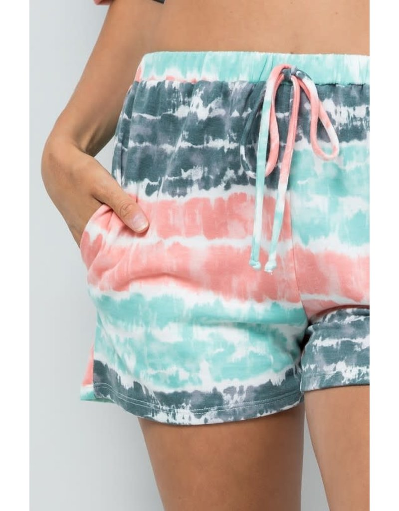Take It Easy Shorts Plus - Teal
