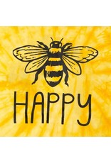 Bee Happy Tie Dye Tee