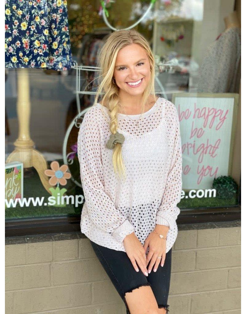 Simple Nights Sweater