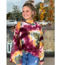 Candy Apple High Neck Sweater