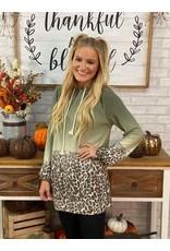 Turning Cheetah Pullover