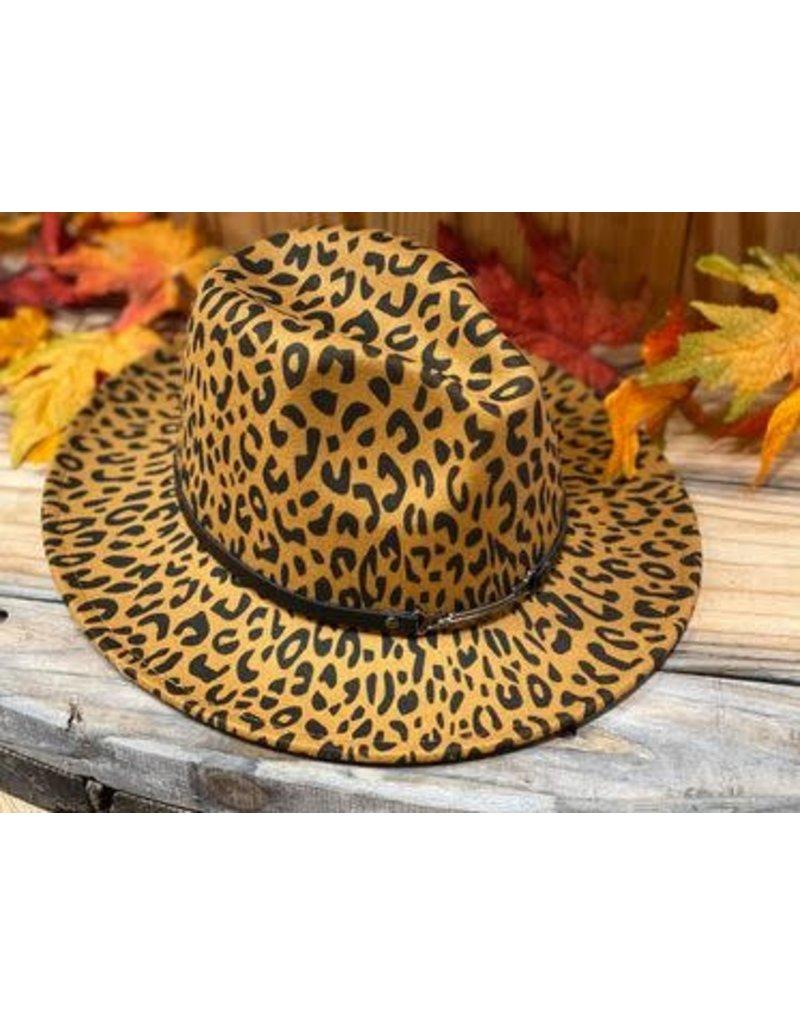 Leopard Fedora