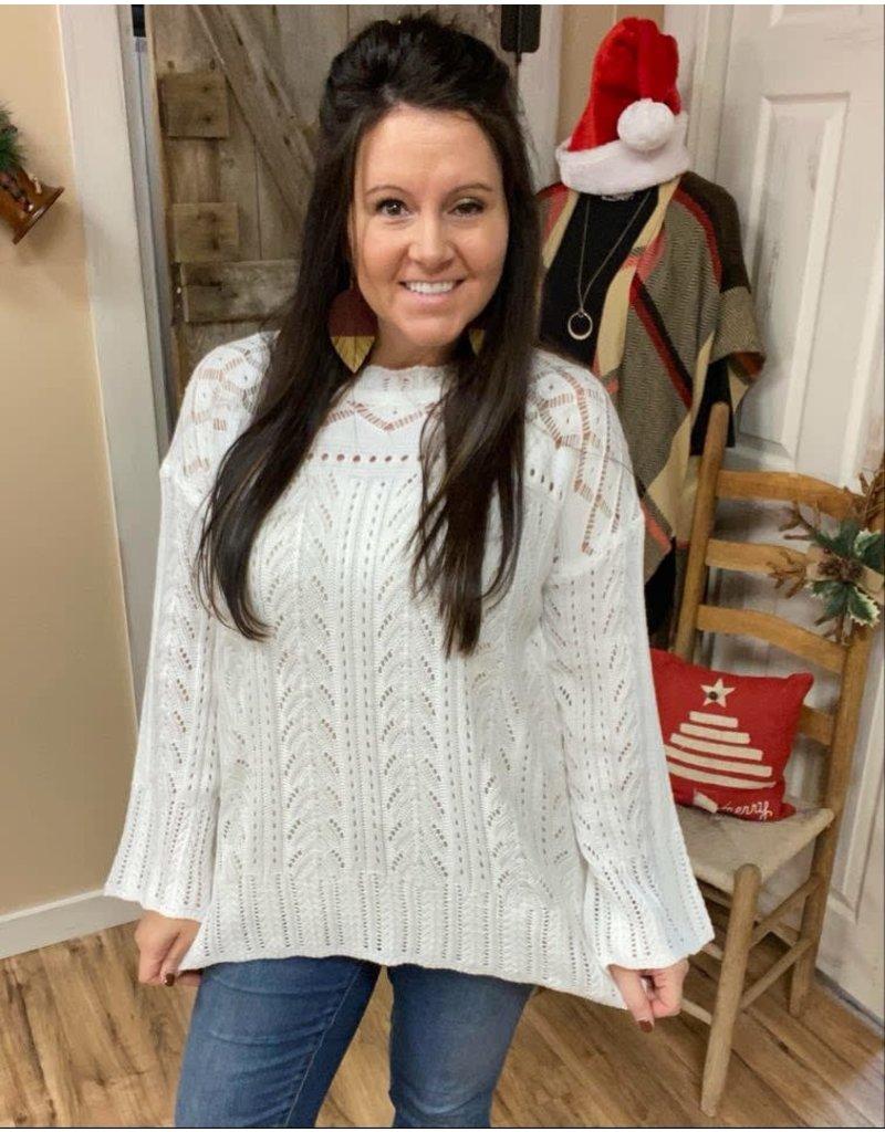 White Christmas Sweater