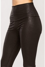 Snake Skin Faux Leggings