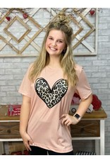 Cheetah Heart Tee