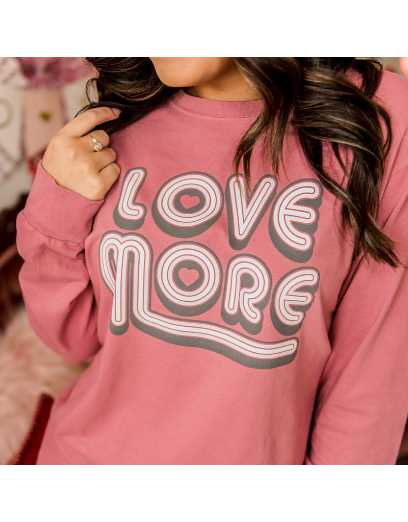 Love More L/S Tee