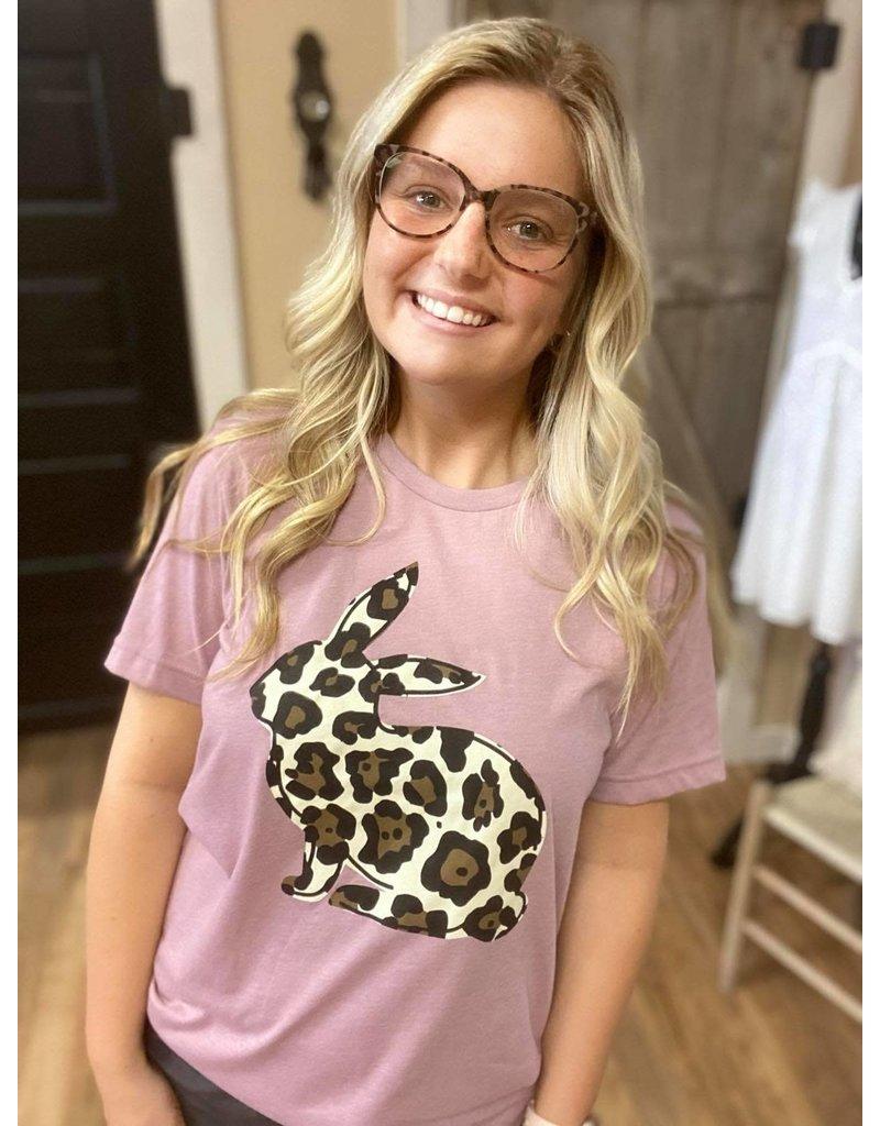 Leopard Bunny Tee