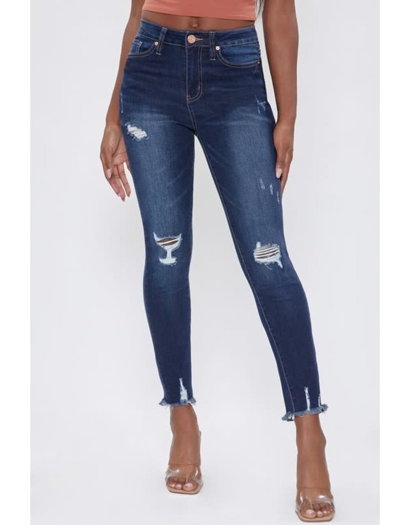 YMI Distressed Jeggings