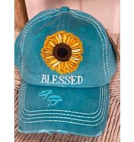 Distressed Blessed Cap