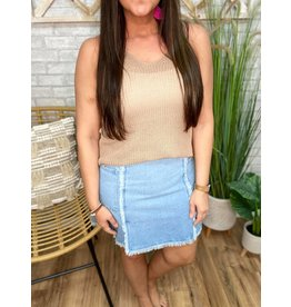 Greater Days Denim Skirt