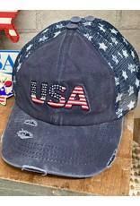 C.C.  USA Cap