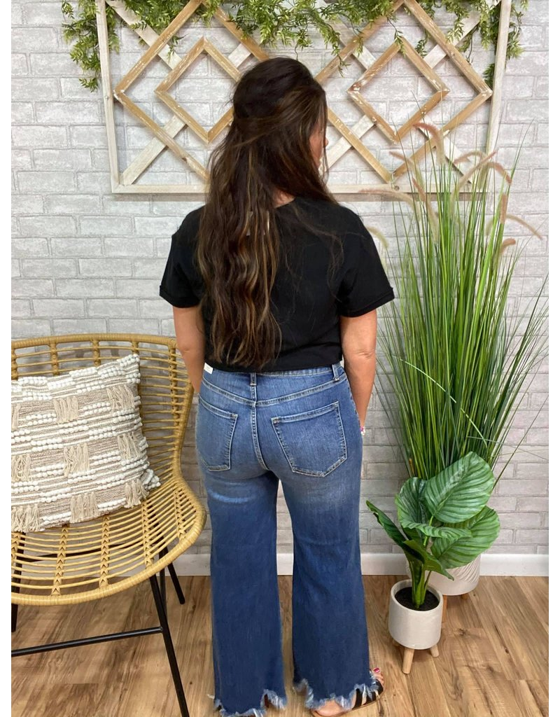 High Rise Crop Jean