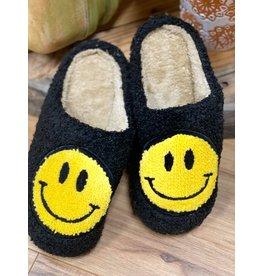 Smiley Fuzz Slippers