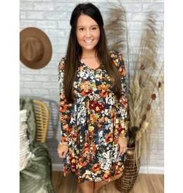 Cheerful Floral Dress