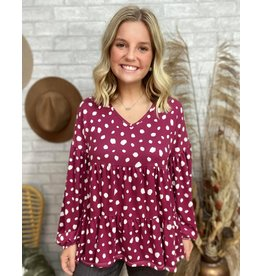 Spotted You Afar Top