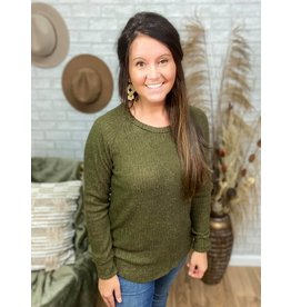Olive About You Top