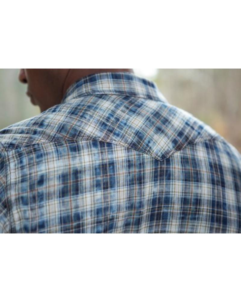 RYAN MICHAEL TOKASHA  FOREST PLAID SHIRT