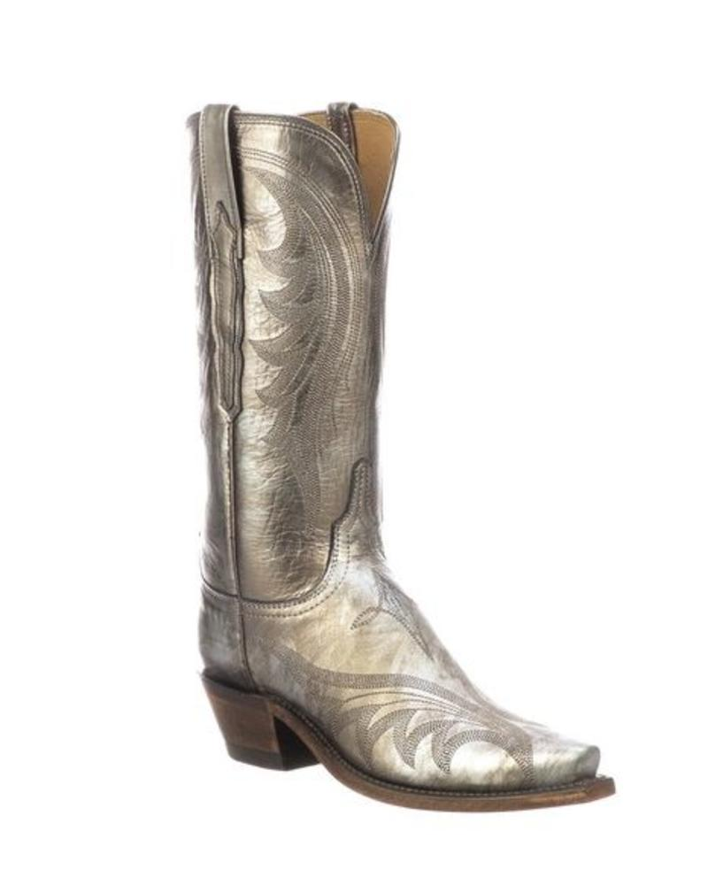 LUCCHESE LILY METALLIC BOOTS
