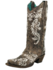 GLOW IN THE DARK  EMBROIDERED BOOT