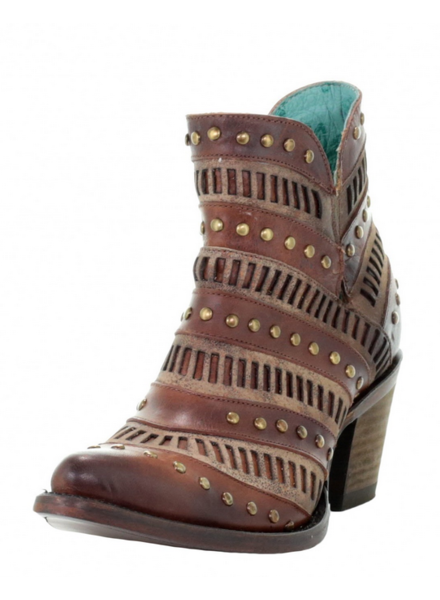 INLAY & STUDS BOOTIE