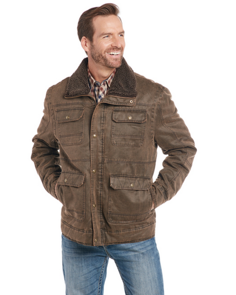 CRIPPLE CREEK ENZYME WASHED JACKET W/ CONCEALED CARRY POCKET