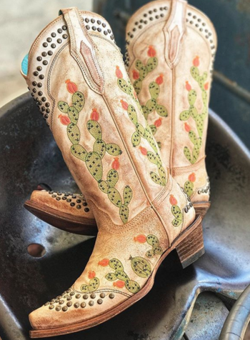 NOPAL EMBROIDERED BOOT