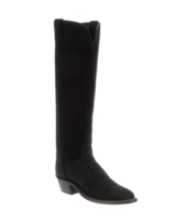 LUCCHESE EDIE SUEDE TALL BOOT