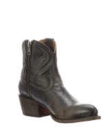 LUCCHESE SABINE ANTHRACITE BOOTIE