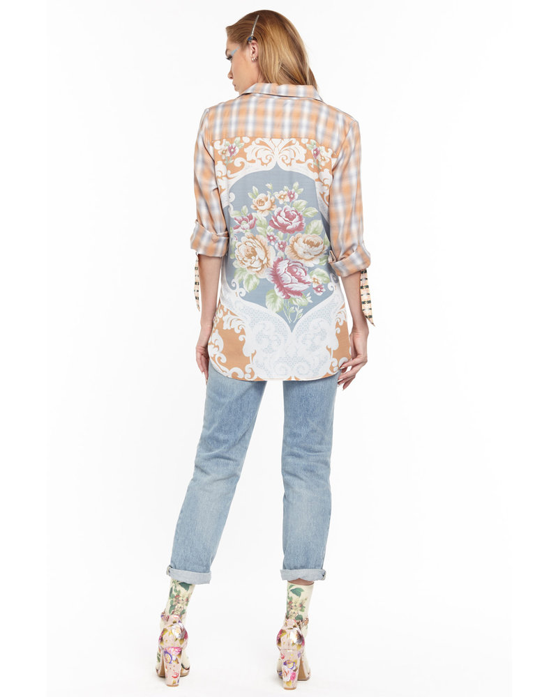 ARATTA SOUTH OF FRANCE REVAMP BLOUSE
