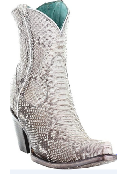 CORRAL NATURAL PYTHON BOOTIE