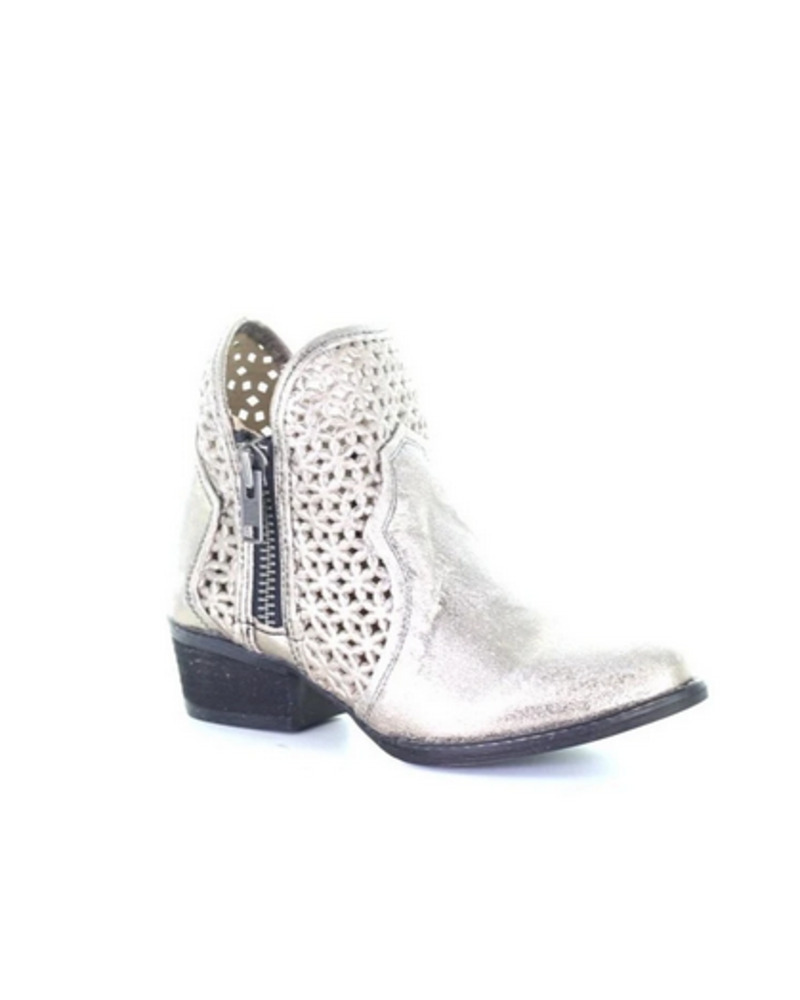 CIRCLE G CUT OUT BOOTIE
