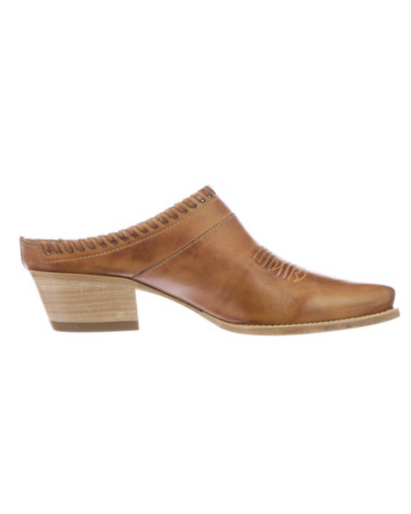 LUCCHESE LUCCHESE KIM LOW HEEL MULE
