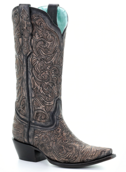 CORRAL HAND TOOLED