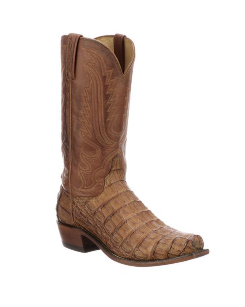 LUCCHESE HORNBACK CAIMAN TAIL