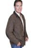 SCULLY MEN'S LEATHER BLAZER