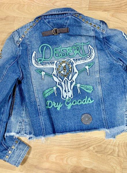 DOUBLE D RANCHWEAR DESERT DRY GOODS JACKET