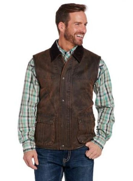 CRIPPLE CREEK ENZYME WASHED CONCEALED CARRY VEST