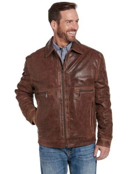 CRIPPLE CREEK RUSTIC CONCEALED CARRY OPEN FRONT JACKET