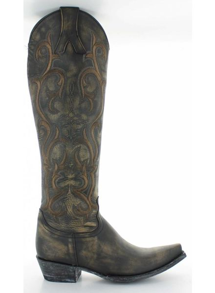 "OLD GRINGO DOLLY MAYRA 18"" BOOT IN BEIGE BY OLD GRINGO"