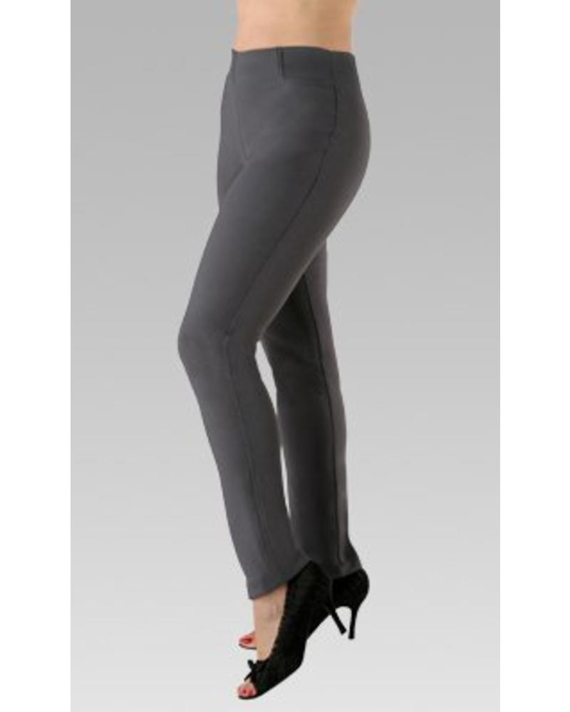 GRETCHEN PULL ON PANT IN BLACK BY PK MAKS