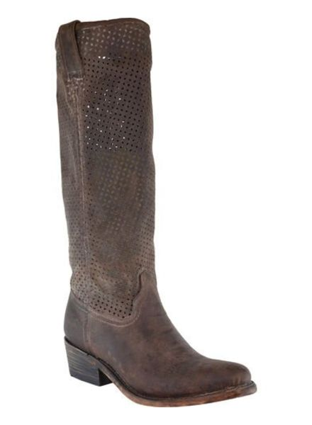 CORRAL WOMEN'S CUT OUT UPPER BOOTS IN BROWN