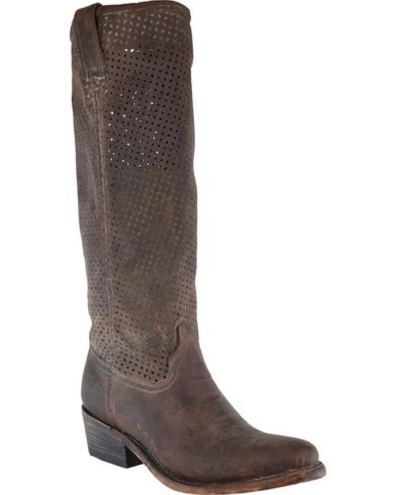 CORRAL CORRAL WOMEN'S CUT OUT UPPER BOOTS IN BROWN