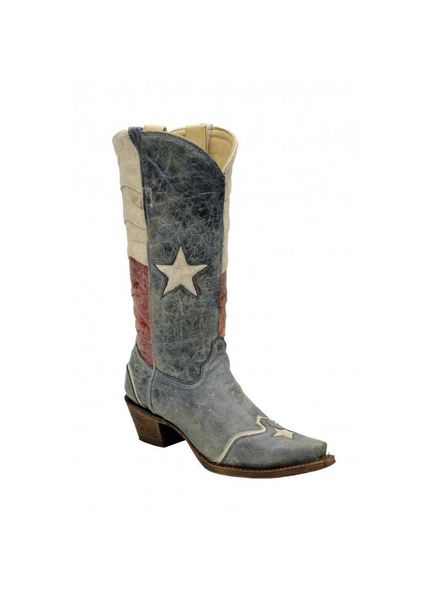 WOMENS TEXAS FLAG BOOT