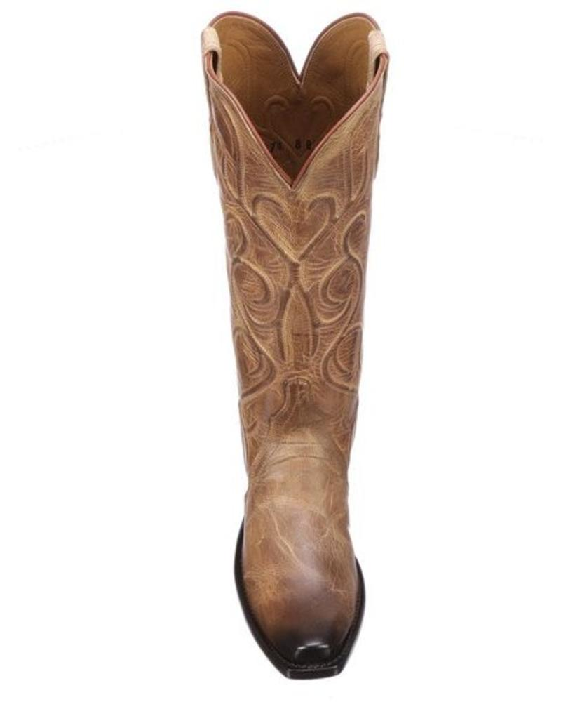 LUCCHESE PATSY BOOT-TAN