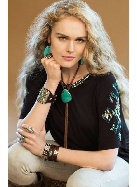 DOUBLE D RANCHWEAR THUNDERSTORM TOP