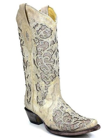 CORRAL GLITTER INLAY BOOT