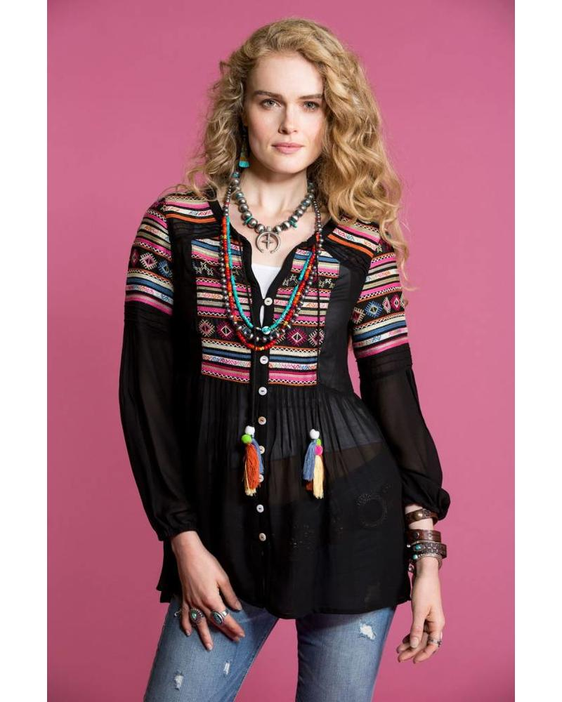 DOUBLE D RANCHWEAR TWO LANE HIGHWAY TOP