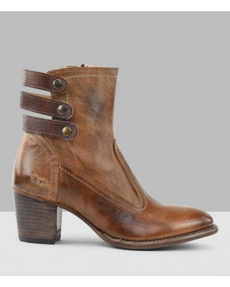 DAWN TAN TEAK SHORT BOOTS