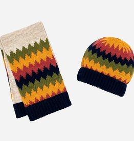 Zig Zag Pattern Hat & Scarf